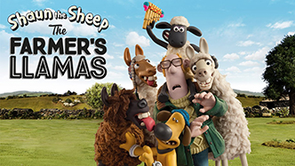 Gallery :: Aardman :: Shaun the Sheep :: The Farmer's Llamas
